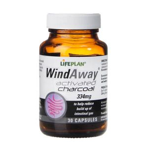 Life Plan Wind Away Activated Charcoal 334mg 30 capsules