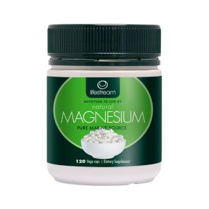 Lifestream Natural Magnesium 120 vegecaps
