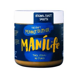 Manilife Smooth Peanut Butter Thick Creamy No Crunch 295g