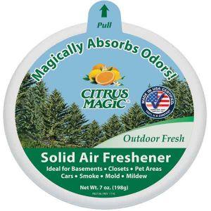 Citrus Magic Solid Air Freshener Outdoor Fresh 199g