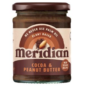 Meridian Cocoa and Peanut Butter with Agave 280g