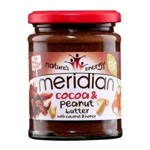 Meridian Cocoa & Peanut Butter with Coconut and Honey 280g