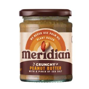 Meridian Crunchy Peanut Butter with a pinch of salt 280g