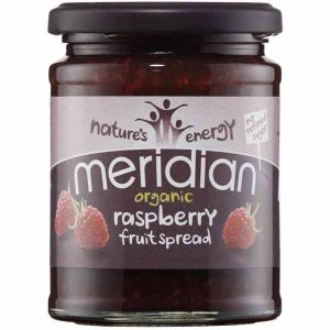 Meridian Organic Raspberry Fruit Spread No Refined Sugar 284g