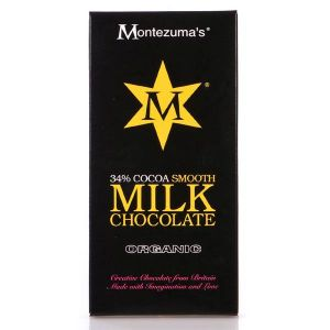 Montezumas - Organic Smooth Milk Chocolate