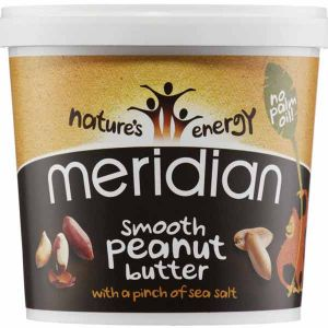 Meridian Smooth Peanut Butter with a pinch of sea salt 1kg