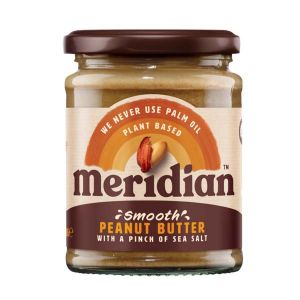 Meridian Smooth Peanut Butter with a pinch of salt 280g