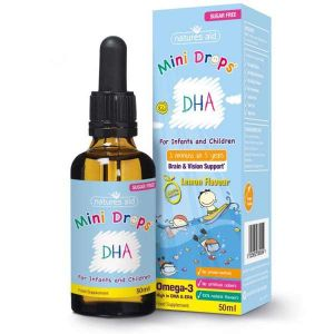 Natures Aid Childrens DHA Omega 3 Drops 50ml