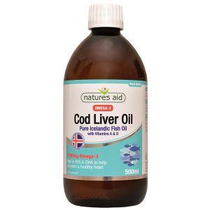 Natures Aid Cod Liver Oil 500ml