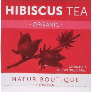 Natur Boutique Organic Hibiscus 20 Sachets