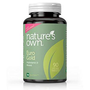 Natures Own Euro Gold Multivitamin and Mineral 90 Vegan Tablets