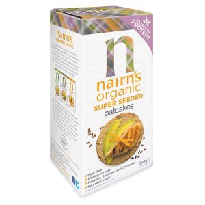 Nairn's Organic SuperSeeded Oatcakes 180g