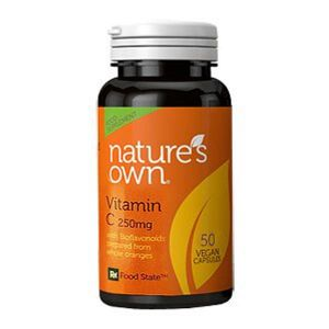 Natures Own Vitamin C Low Acid 250mg 50 Tablets