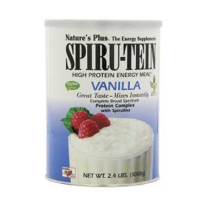 Natures Plus Spiru-Tein High Protein Energy Food Supplement Vanilla 544g