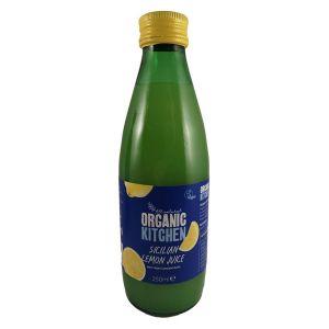 Organic Kitchen Sicilian Lemon Juice 250ml