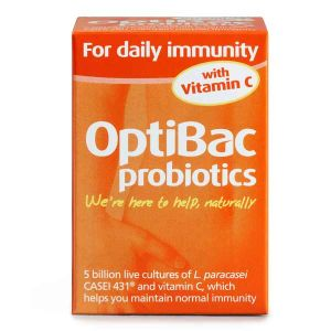 Optibac Probiotics For Daily Immunity 30 Capsules