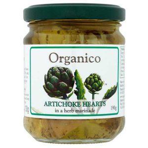 Organico Artichoke Hearts 190g