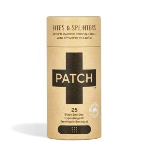 Patch Activated Charcoal Natural Bamboo 25 Plasters