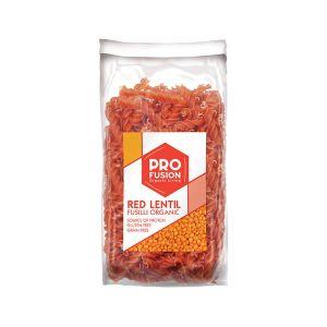 Profusion Organic Gluten-free Red Lentil Fusilli 300g