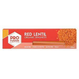 Profusion Organic Gluten Free Red lentil Spaghetti 250g
