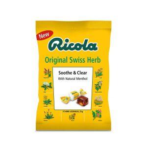 Ricola Sooth & Clear Original Herb 75g