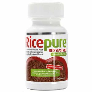 Rice Pure Red Rice Yeast 30 capsules