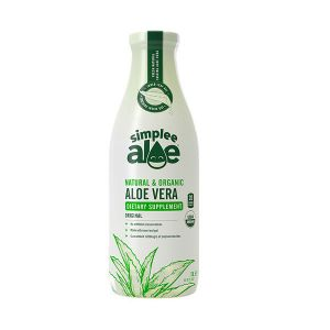 SimpleeAloe Natural & Organic Aloe Vera food supplement 1000ml
