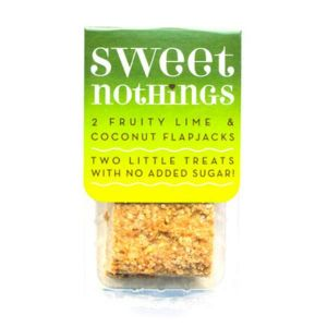 Sweet Nothings - Fruity Lime & Coconut Flapjacks 2x 34g