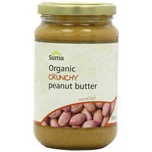 Suma Wholefoods Suma Crunchy Peanut Butter (Unsalted) 340g