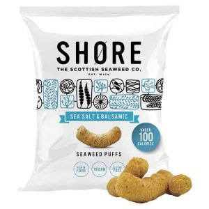 Shore Sea Salt and Balsamic Seaweed Puffs 22.5g