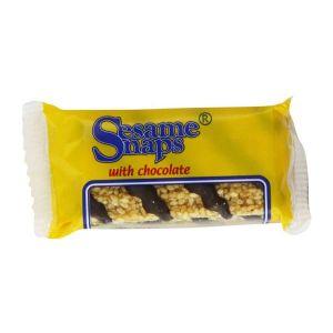 Sesame Snaps - with Chocolate Bar 30g