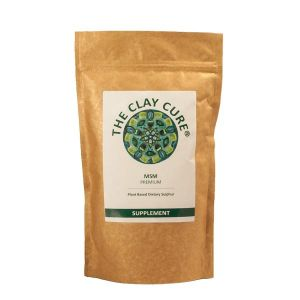 The Clay Cure MSM Powder 500g