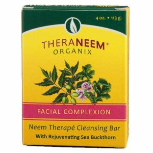 Theraneem Natural Facial Complexion Neem Cleansing Bar 113g