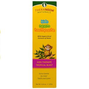Theraneem Naturals Kids Neem Tropical Blast Toothpaste 120g