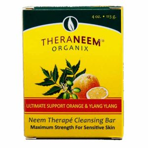Theraneem Naturals Ultimate Support Orange & Ylang Ylang Soap Bar 113g