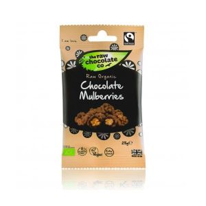 The Raw Chocolate Co Chocolate Mulberries 28g