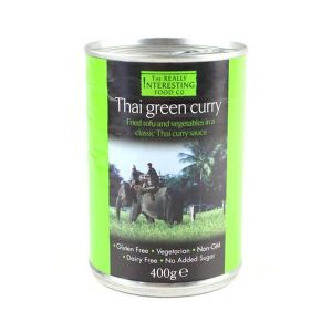 The Really Interesting Food Co Thai Green Curry 400g