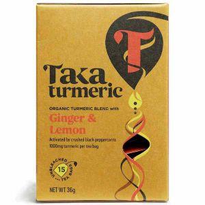 Taka Turmeric Ginger Lemon 15 Teabags