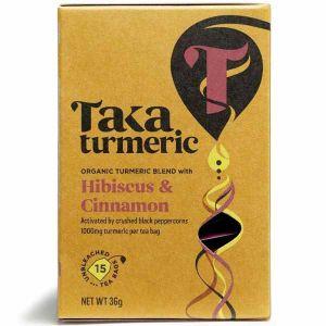 Taka Turmeric Hibiscus Cinnamon 15 Teabags