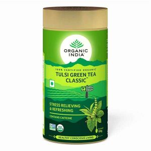 Organic India Tulsi (holy Basil) Tea Loose (tinned) 100g