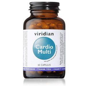 Viridian Cardio Multi 60 Vegetarian Capsules