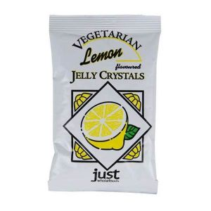 Just Whole Foods Vegetarian Lemon Jelly Crystals 85g