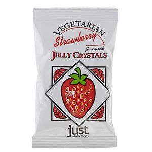 Just Whole Foods Vegetarian Strawberry Jelly Crystals 85g