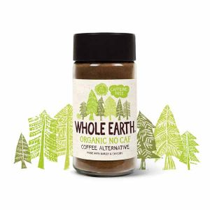 Whole Earth Organic No Caf Coffee Alternative Caffeine Free 100G