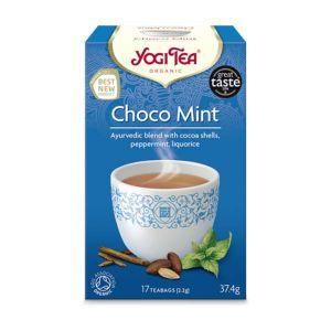 Yogi Organic Choco Mint Tea 17 Tea Bags