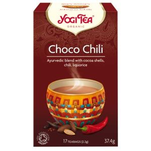 Yogi Tea Organic Choco Chili 17 Teabags