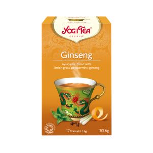 Yogi Tea Organic Ginseng 17 Tea Bags