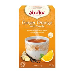 Yogi Tea Organic Ginger Orange with Vanilla Tea 17 Teabags