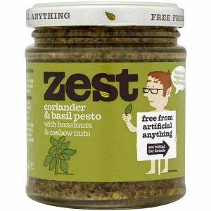 Zest - Coriander & Basil Pesto 165g