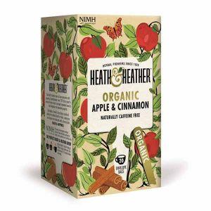Heath & Heather Organic Apple Cinnamon 20 Tea Bags